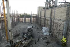 سقف شبستان فاز دوم