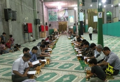 آیین جزخوانی قرآن کریم در ماه رمضان91