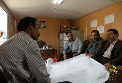 بازدید مهندسین آستان قدس ضوی