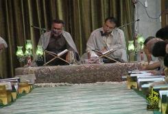 آیین جزخوانی قرآن کریم در ماه مبارک رمضان1391
